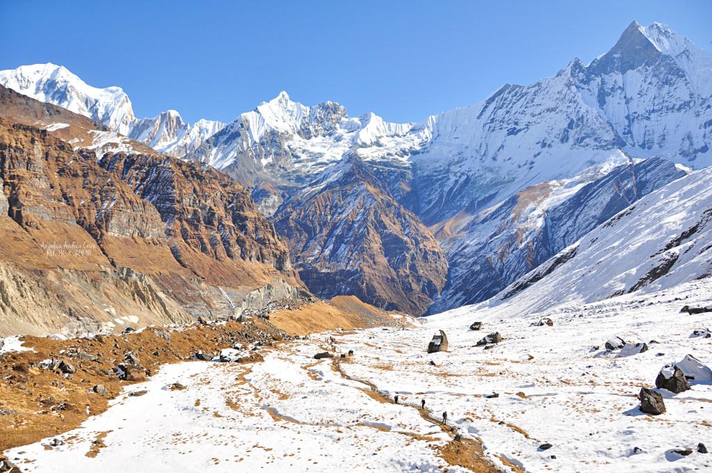 Annapurna circuit trekking Nepal